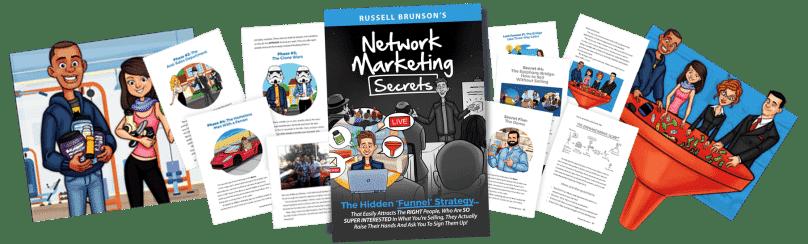 Résumé Network Marketing Secrets russell brunson