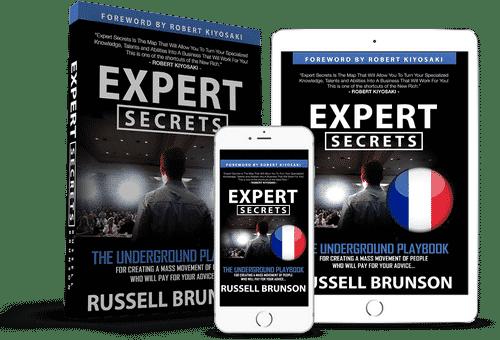 expert secrets en français russell brunson