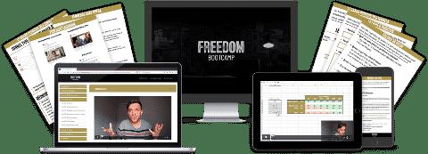 Freedom Bootcamp : une formation pour les web entrepreneurs motivés.