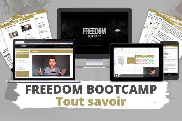 Freedom Bootcamp pour démarrer son activité sur Internet