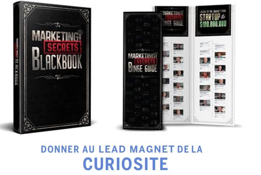 «Lead magnet» et curiosité - Lead Funnels Résumé