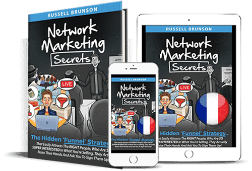 network marketing secrets en français russell brunson
