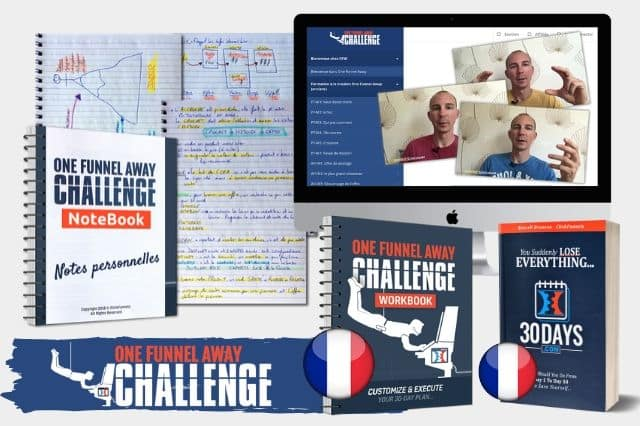 one funnel away challenge francais offre 9