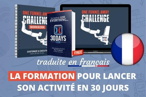 One Funnel Away Challenge en FRANCAIS