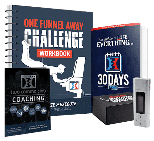 one funnel away challenge kit 7