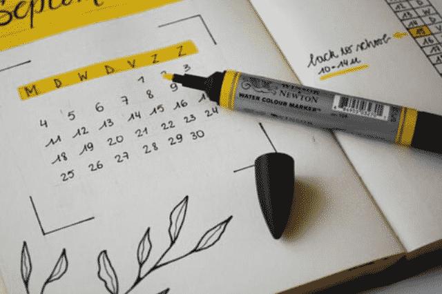 tenir compte de son planning pour alimenter son blog