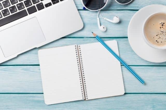 avoir de quoi noter pour ses idées de sujet afin d'alimenter son blog