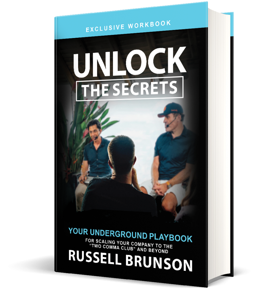 Unlock The Secrets de Russell Brunson - Le Livre BONUS