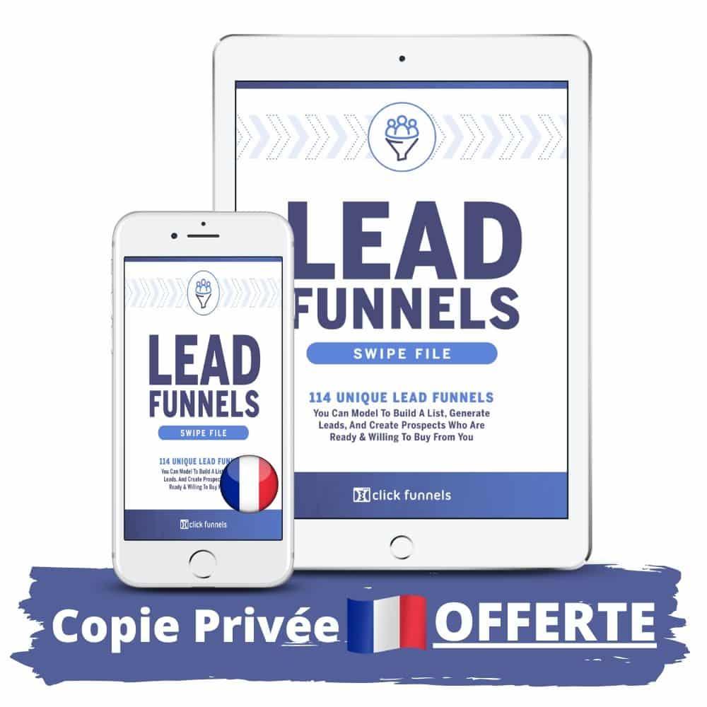 Lead Funnels de Russell Brunson en Français copie privée