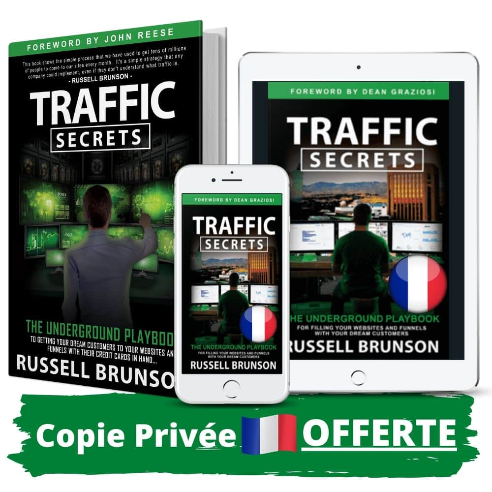 Traffic Secrets de Russell Brunson en Français copie privée